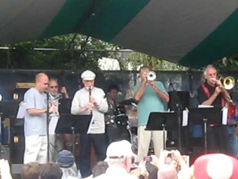 Pete Fountain recognized as New Orleans Jazz Fest ancestor