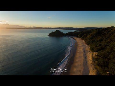 New Chum Beach, The Coromandel Peninsula, New Zealand