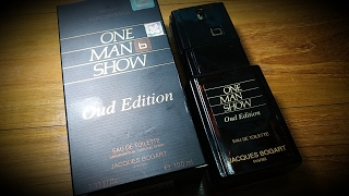 """One Man Show """"Oud Edition"""" By Jacques Bogart (First Impressions)"""