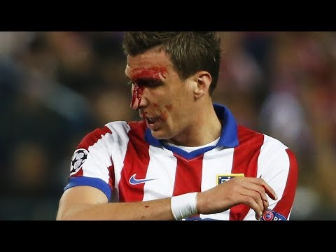 Best fights and angry Mario Mandzukic Moments