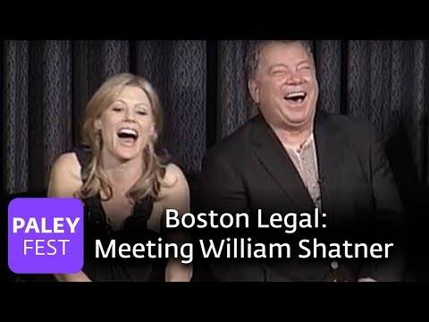 Boston Legal - David E. Kelley on Meeting William Shatner (Paley Center, 2006)