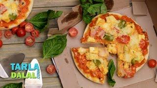Tandoori Paneer Pizza By Tarla Dalal