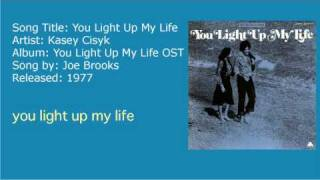 Kasey Cisyk - You Light Up My Life