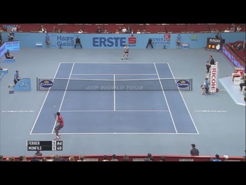 2015 Erste Bank Open Vienna - Semi Finals: Gulbis v Johnson & Ferrer v Monfils