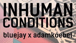 INHUMAN CONDITIONS // Bluejay x Adam
