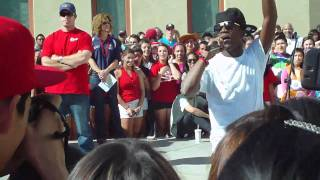 Iyaz performance live at King High (singing Solo and Replay)