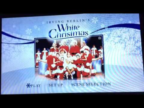 opening to white christmas 2009 dvd disc 1