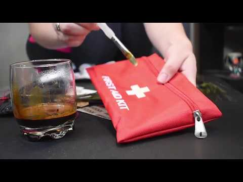 UNDER $15: How to make your own Post Apocalyptic First aid survival kit - Larpgasm Collaboration