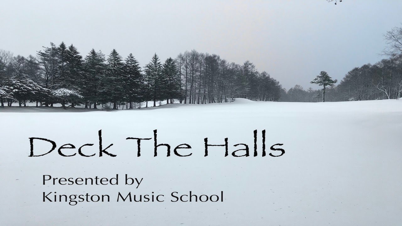 Student Christmas Video #3: Anna's Singing Students - Deck The Halls ❄️
