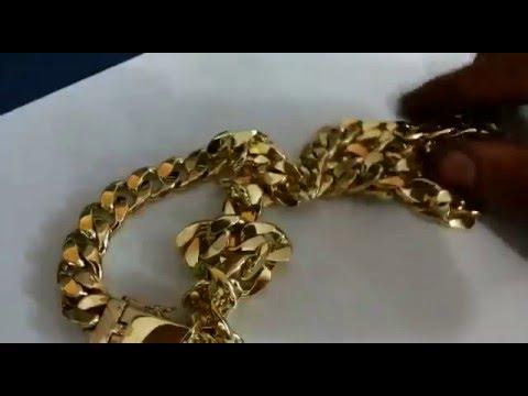 fbf5171700f Corrente Modelo Grumet em Ouro 380 gramas maciça - YouTube