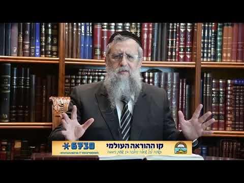 Rabbi David Yossef - What is True Freedom - Something for Pesach