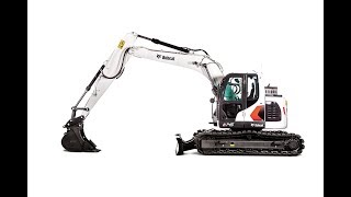 Bobcat Shatters Compact Size Barrier with New 14 tonne Excavator