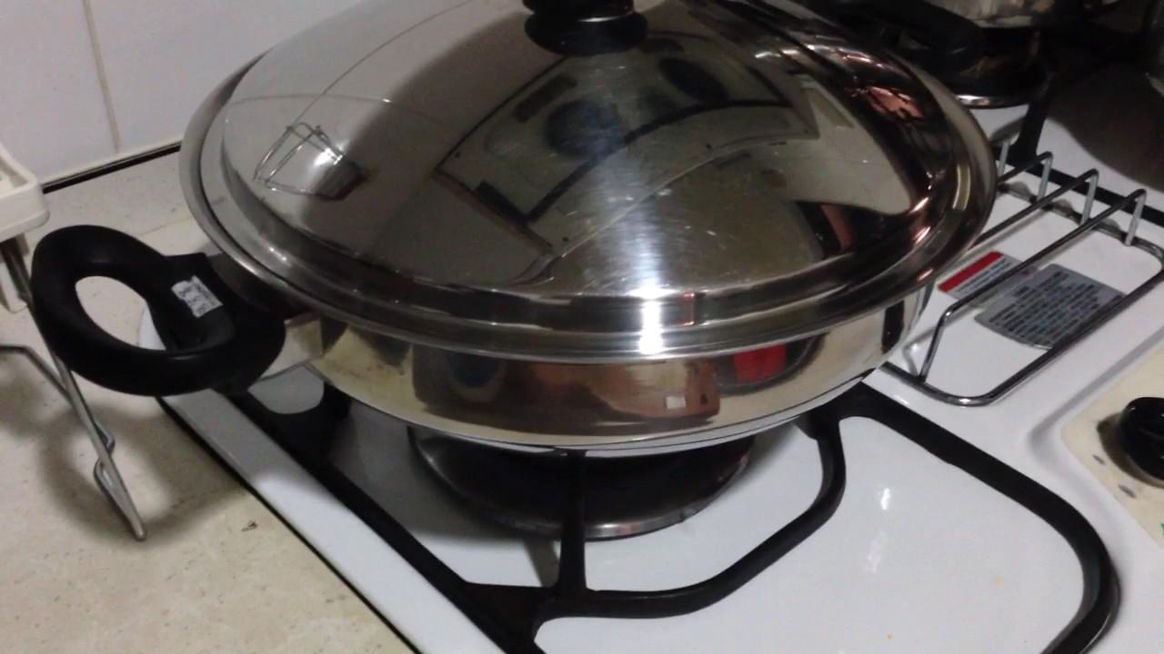 安麗中式炒鍋煎蛋-1 - YouTube