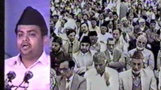 Urdu Nazm ~ Wo Peshwa Hamara Jis Say Hay Noor Sara (Jalsa Salana UK 1987)