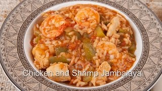Homemade Chicken & Shrimp Jambalaya (med Diet Episode 38)