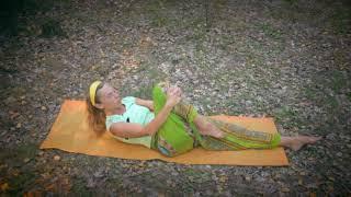 Комплекс йоги для женщин (3 часть) | йога для женского здоровья | видео-урок | муна Радуга жизни