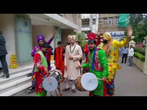Punjabi dhol bhangra wedding baraat nitinbedi mumbai 09892833280