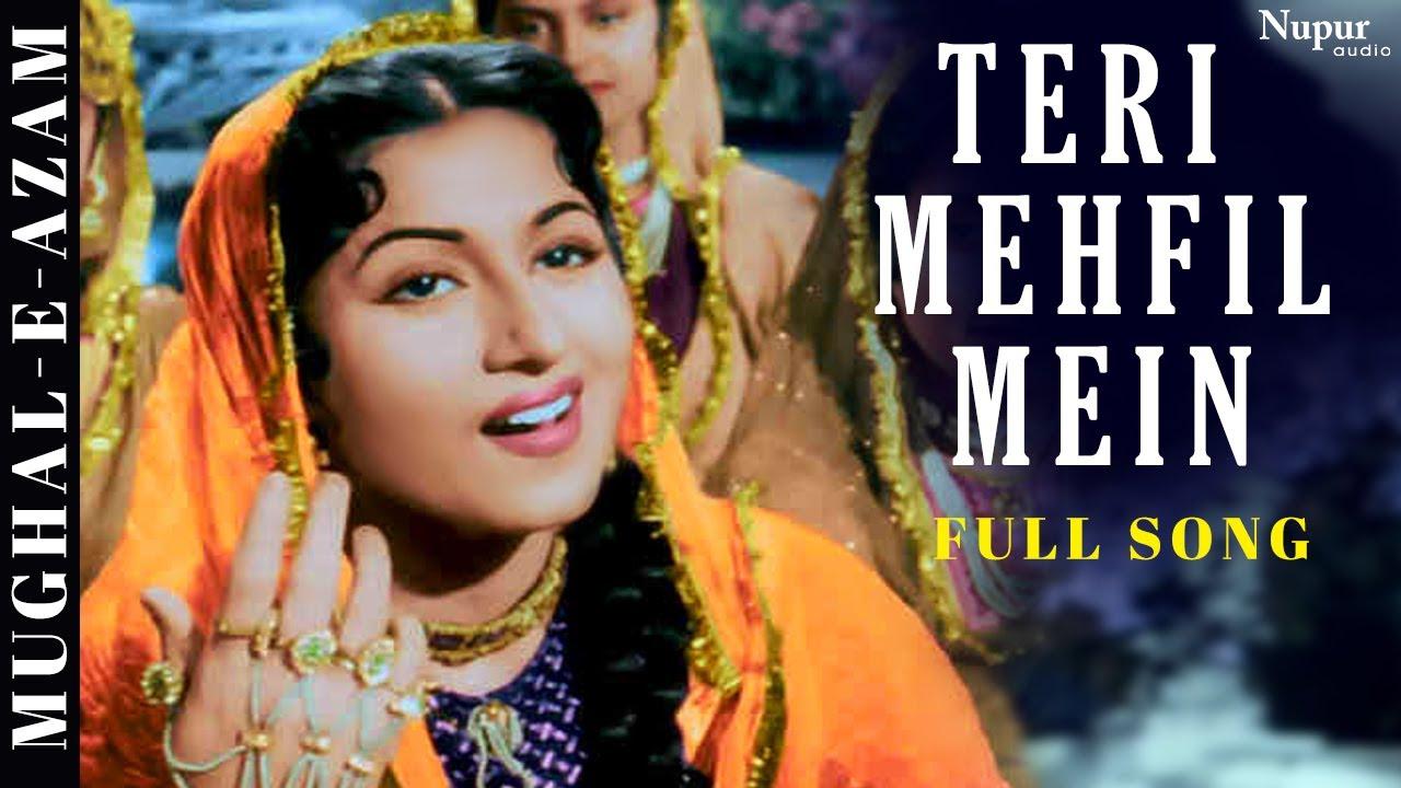Download Teri Mehfil Mein   Lata Mangeshkar, Shamshad Begum   Classic Duet   Mughal-E-Azam   Bollywood Song