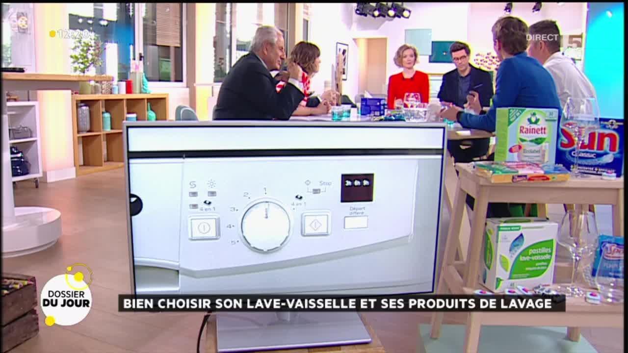 dossier du jour lave vaisselle et produits vaisselle lesquels choisir youtube. Black Bedroom Furniture Sets. Home Design Ideas