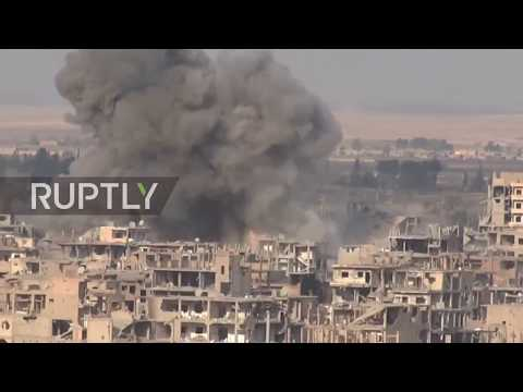 Syria: SAA take back Al-Hamidiyah district in Deir Ez-Zor from IS