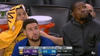 LeBron Injury, Lakers Blowout Warriors on Christmas! 2018-19 NBA Season