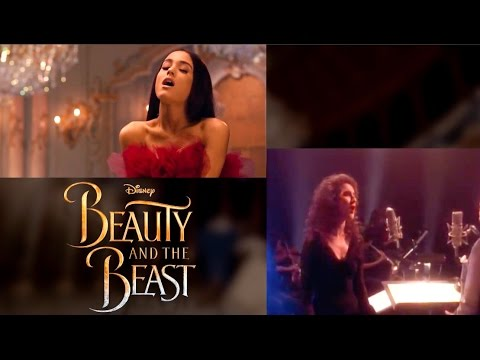 "Thumbnail: ""Beauty and the Beast"" Song- Music Video Comparison 1991 vs 2017 (Animated vs Live Action)"