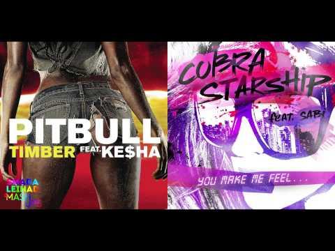 Pitbull ft. Ke$ha vs. Cobra Starship ft. Sabi - You Make Me Timber