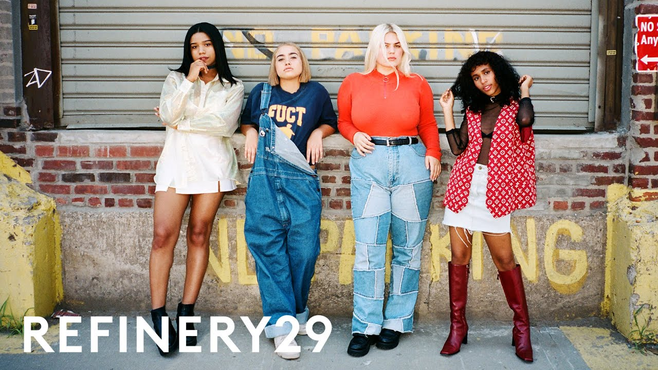 A Look At Generation Z Street Style Fashion Youtube