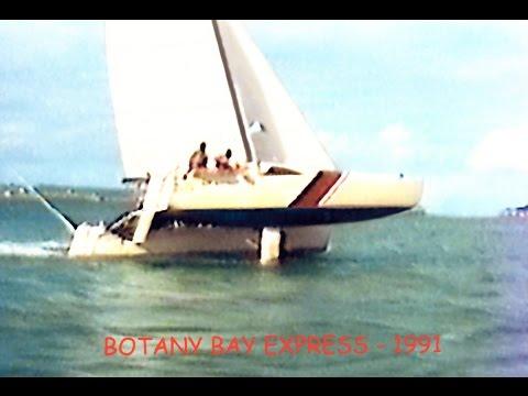 Botany Bay to Broughton Island on GBE 28 Catamaran BOTANY BAY EXPRESS 1989 Part 1