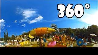 AQUAPARK BASENY ZJEŻDŻALNIE film 360° (przeczytaj komentarz)