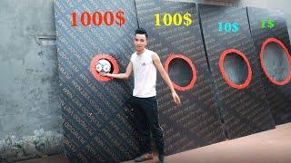 PHD   Thử Thách Sút Bóng Nhận Quà   FOOTBALL CHALLENGE