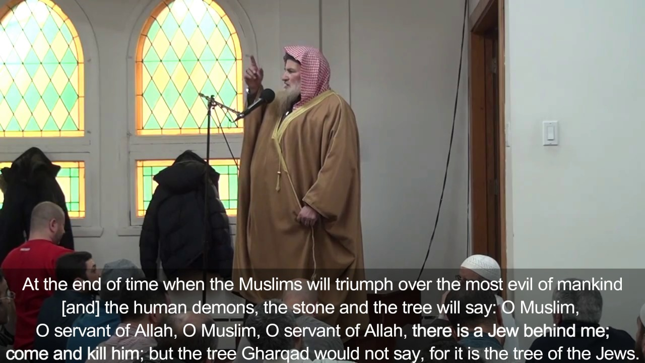 Montreal Imam: Jews are the most evil of mankind, human demons, quotes kill Jews passage from Quran