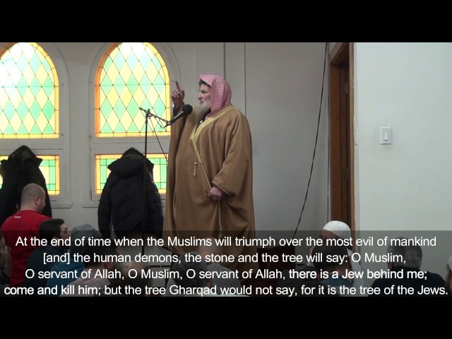 Risultati immagini per WATCH: Muslim imam in Quebec preaches about killing Jews