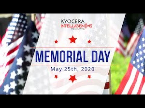 Memorial Day | Kyocera Intelligence
