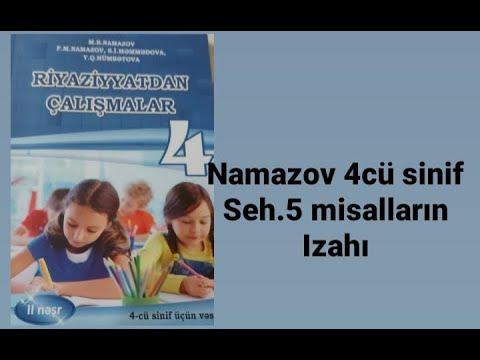 5 ci sinif Namazov kitabi seh.4