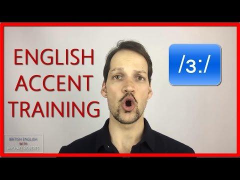 /ɜ:/ Sound Tutorial- Long Vowel Sound #5 British English Pronunciation & English Accent Training