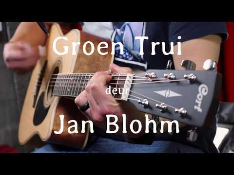 Jan Blohm Groen Trui - Cover deur Die Rooiwynprofeet