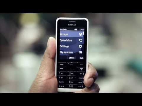 EE -- Nokia 301 -- Copy contacts from your SIM