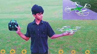Unboxing RC Drone   RC Toys   Kids RC Helicopter   Kids Playing with RC Drone