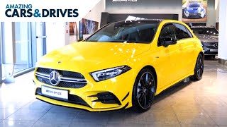 Mercedes-AMG A35 4MATIC | 2019 Mercedes A35 -Mercedes newest AMG and what a car! What do you think?