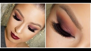 Cranberry Crush: Holiday Makeup Tutorial Thumbnail