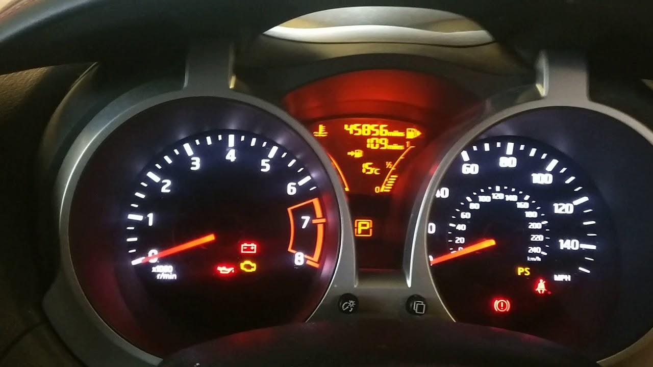 New Nissan Juke Service Spanner Reset Youtube