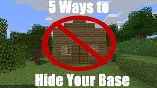 Minecraft - 5 Ways to Hide Your Base