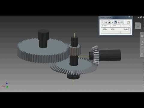 Dynamic simulation of bevel spur gear inventor 2013 youtube dynamic simulation of bevel spur gear inventor 2013 ccuart Image collections