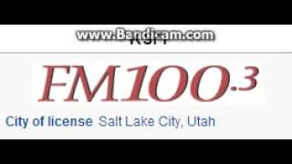 "25 Days of Christmas Radio - Day 10: KSFI: ""FM100.3"" Salt Lake City, UT TOTH ID 6pm MT--12/10/15"