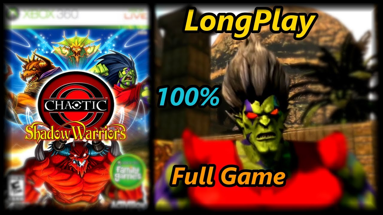 Chaotic: Shadow Warriors – Longplay (100%) Full Game Walkthrough (No Commentary)