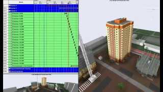 видео этапы строительства многоквартирного жилого