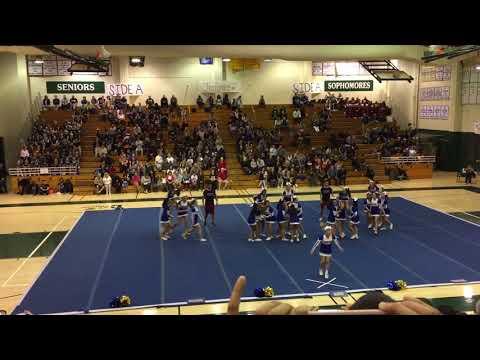 Valencia High School Tigers Cheer 2017