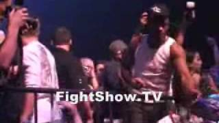 Chuck Liddell vs Anderson Silva After Party #2 on FightShow TV
