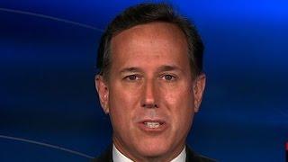Santorum  'America voted for this problem'